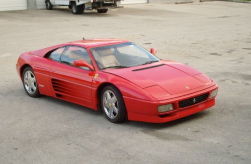"This is a Ferrari 348 TS, 1989 model year. It has the ""Magnum PI"" style"