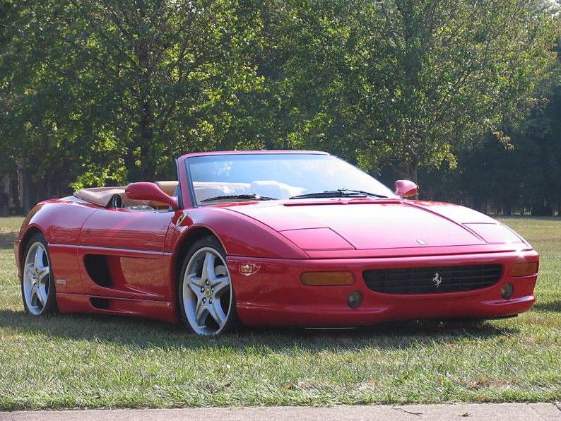 1998 ferrari 355 f1 spider convertible