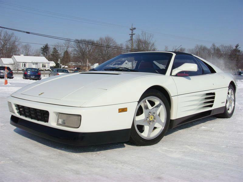 ferrari 348 ts white
