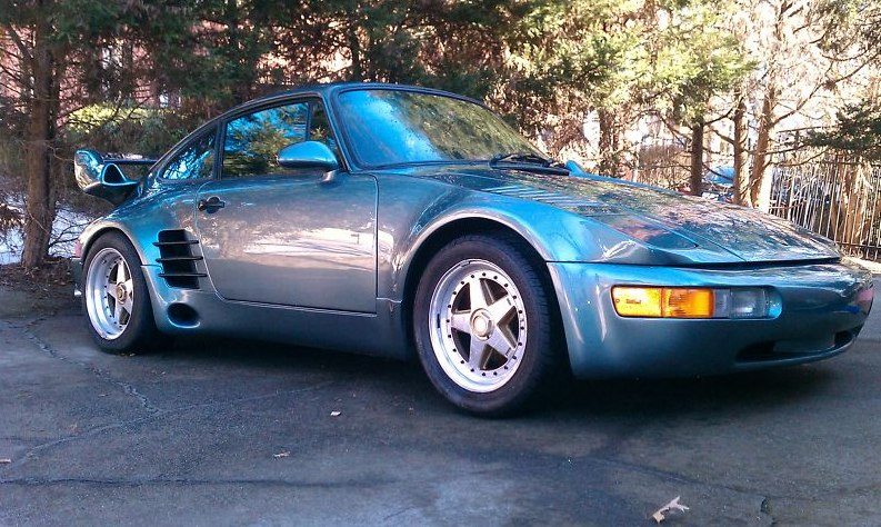 porsche 911 turbo slantnose 1987