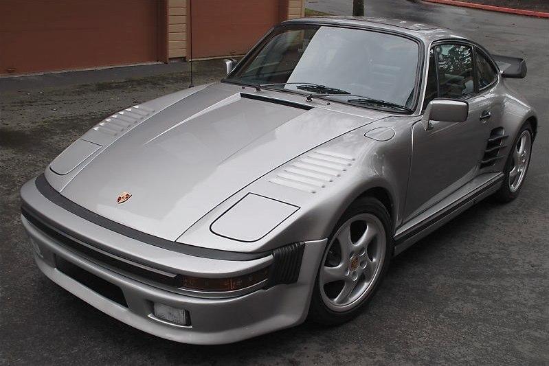 porsche 911 turbo look slantnose