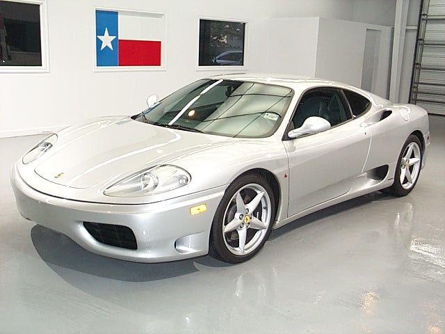 2001 Ferrari 360 Silver